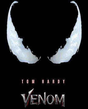 locandina ufficiale del film venom - nerdfaece