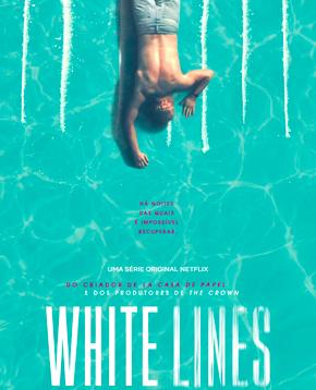 locandina ufficiale di white lines - nerdface
