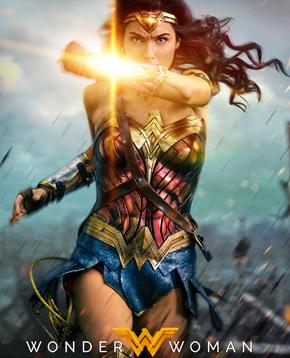 locandina ufficiale del film Wonder Woman - nerdface