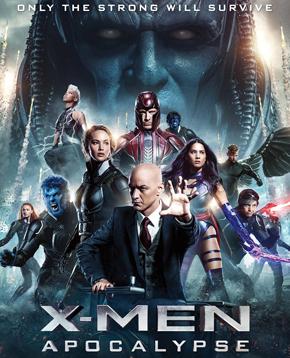 locandina ufficiale di X-Men: Apocalypse - nerdface
