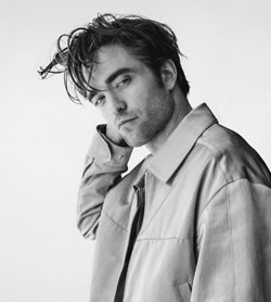 Primo piano di Robert Pattinson - nerdface