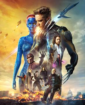 locandina ufficiale del film X-Men: Giorni di un Futuro Passato - nerdface