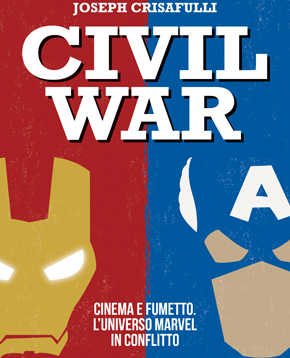 Copertina del libro Civil War - nerdface